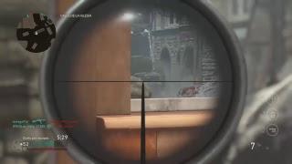 Directo COD WW2 Sacandome el diamante en los francotiradores