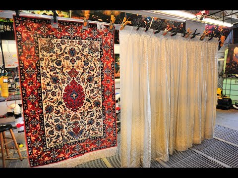 Cleaning antique Oriental rug By PetPeePee company nationwide service