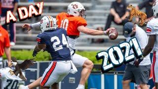 Auburn Football A Day Game 2021 Highlights