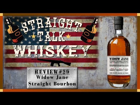 Whiskey Review 29 - Widow Jane 8 Year Old Straight Bourbon