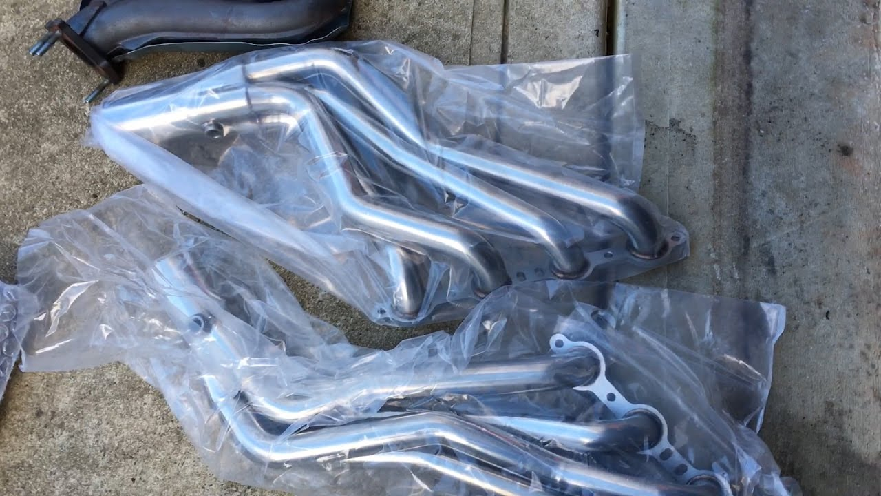 Installing Long Tube Headers Amp Y Pipe On Chevy Tahoe Gm