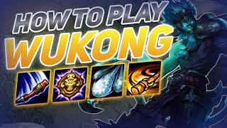 HOW TO PLAY WUKONG SEASON 10 | BEST Build & Runes | Season 10 Wukong guide | League of Legends