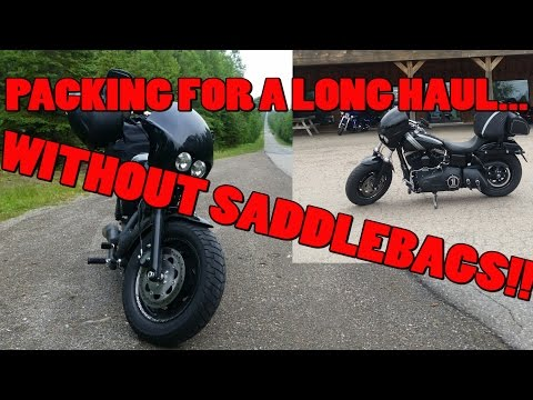 Tip: Packing For A Long Ride Without Saddlebags