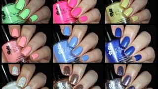 Kbshimmer Summer Collection Live Swatch + Review!