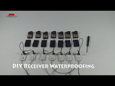 How to DIY Waterproof receiver for mudding RC trucks boats cars