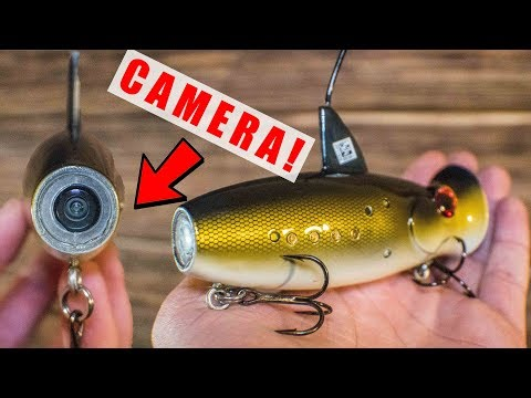 First Ever Lure With Camera Built In! – (Record Catches)