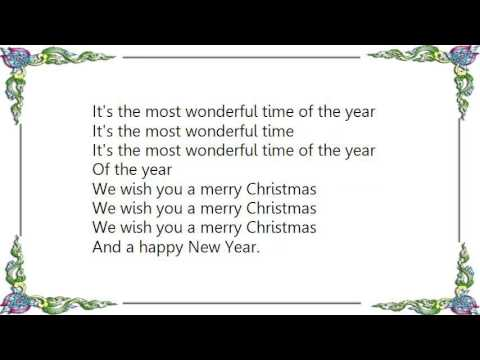 christmas medley the most wonderful time of the yearwe wish you a mer - Christmas Medley Lyrics