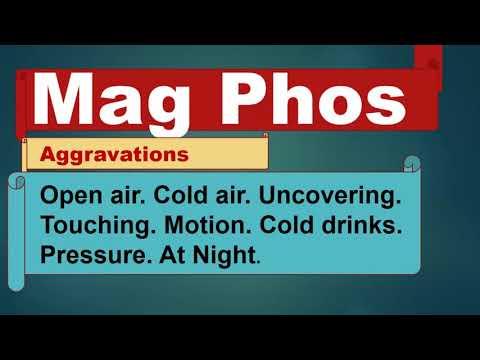 Magnesium Phosphate Homeopathy|mag Phos 6x Benefits-mag Phosphoricum  By Dr Kamal