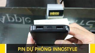 LÊ SANG | Pin sạc dự phòng Innostyle PowerGo 2 cổng sạc + sạc nhanh Smart AI, hàng xịn, giá rẻ
