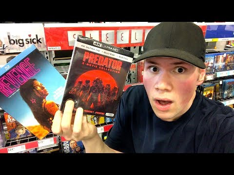 Blu-ray / Dvd Tuesday Shopping 8/7/18 : My Blu-ray Collection Series
