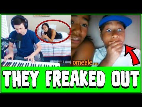 Spooky Ghost Plays Piano On Omegle Prank Reactions Doovi