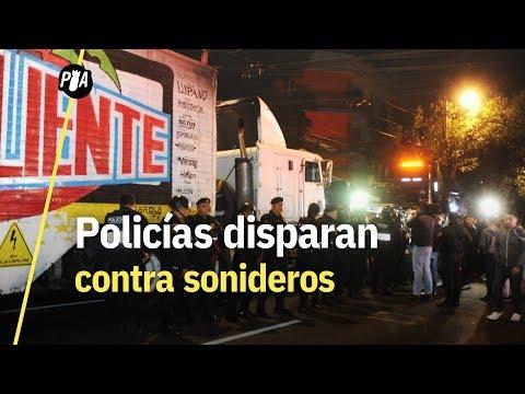 Policías dispararon contra sonideros en la Narvarte, CDMX
