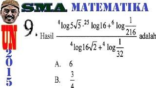 Video logaritma - un matematika ipa sma 2015 pembahasan  no 09 download MP3, 3GP, MP4, WEBM, AVI, FLV Juni 2018