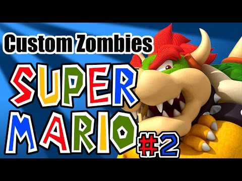 """Zombie Super Mario 64"" Part2:The Search for Jugg (World at War Custom Zombies)"
