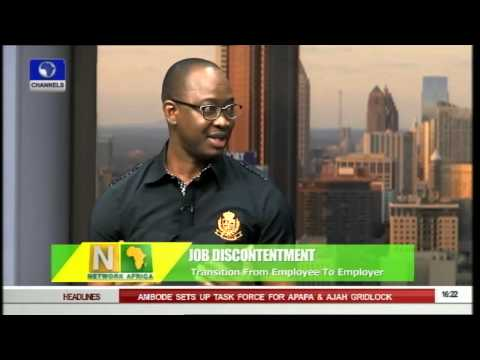 Network Africa: Bruno Oaikhinan's Transition From Employee To Employer -- 26/06/15
