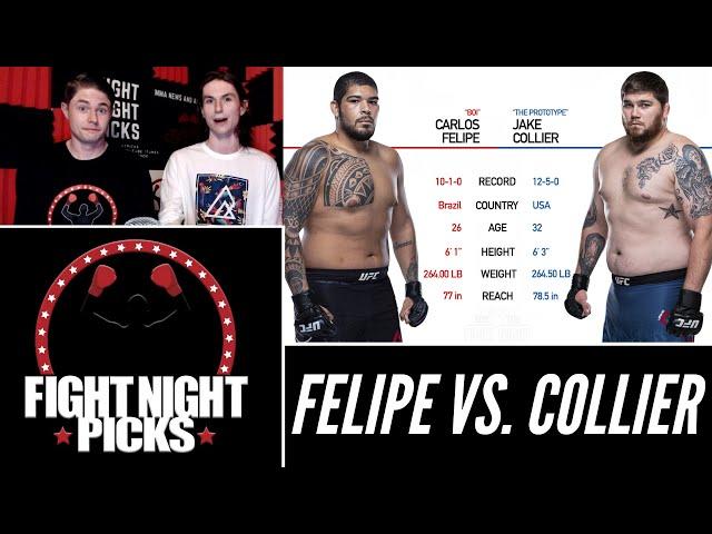UFC 263: Carlos Felipe vs. Jake Collier Prediction