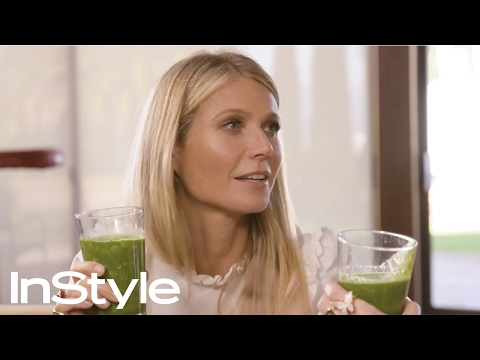 Make Me Gwyn: Gywneth Paltrow Teaches Laura Brown How to Make a Life-Changing Smoothie