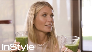 Make Me Gwyn: Gywneth Paltrow Teaches Laura Brown How to Make a Life-Changing Smoothie | InStyle