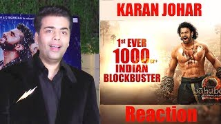 Karan Johar's Reaction On Baahubali 2 Becoming The Biggest Movie Till Now