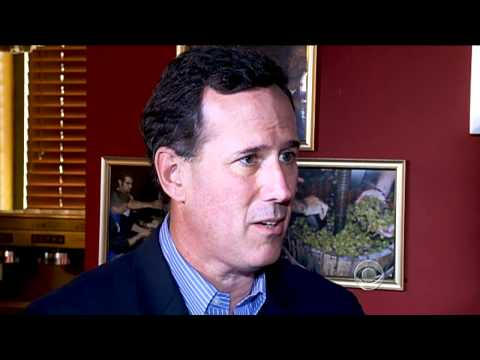 CBS Evening News with Scott Pelley - Santorum's health care overhaul