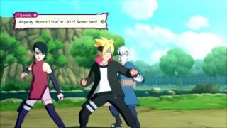 Naruto Shippuden: Ultimate Ninja Storm 4, Boruto/Mitsuki/Sarada VS Konohamaru!