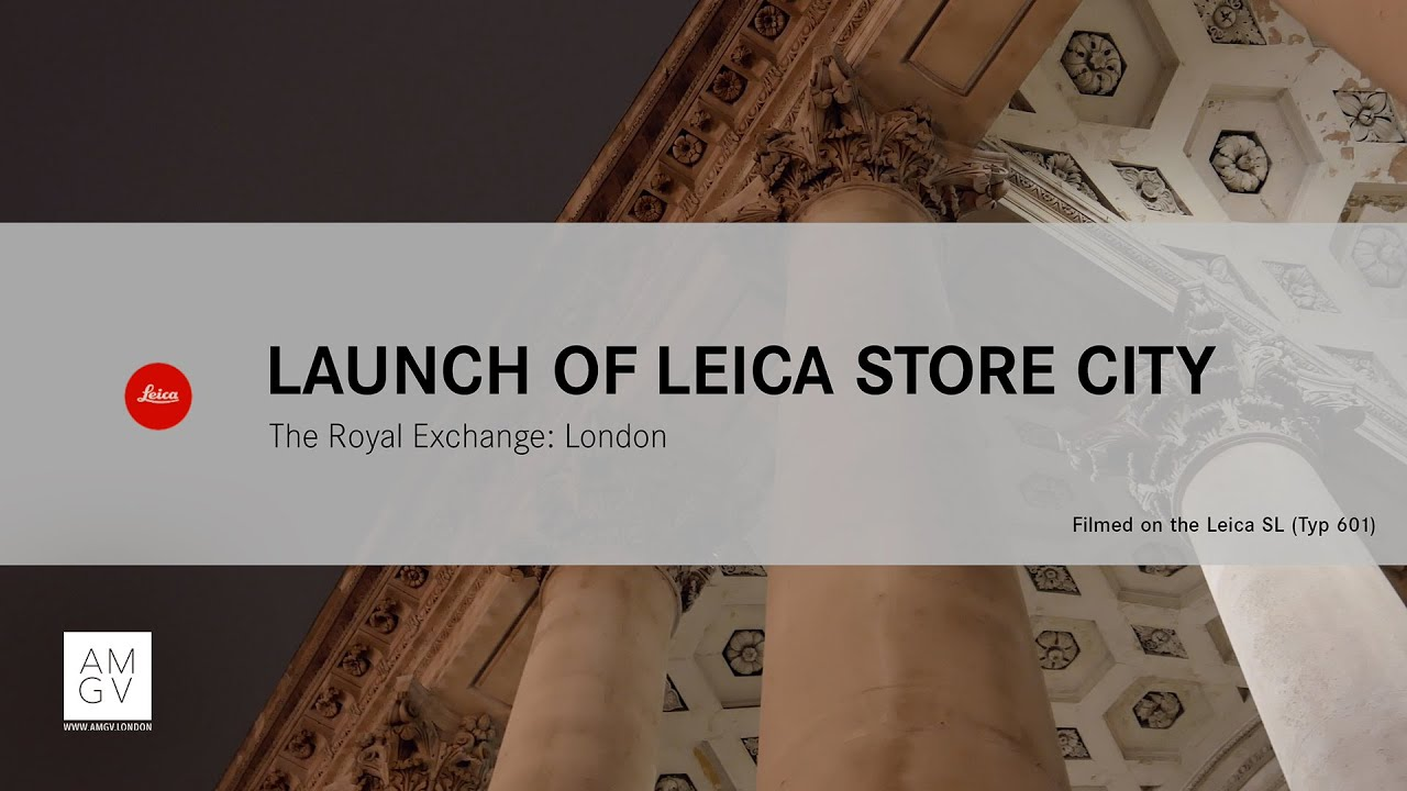 Leica Store City Launch At The Royal Exchange - SL (Typ 601)