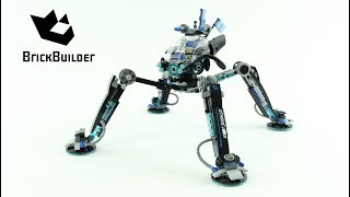 Lego Ninjago 70611 Water Strider  - Lego Speed build