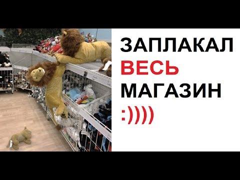Лютые приколы. Король лев в магазине. Плакали все :))