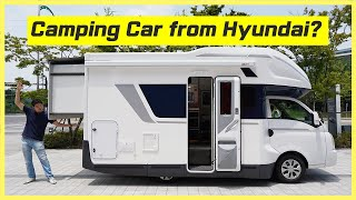Motorhome from Hyundai that starts around $42K USD. Can you belive it? 1st RV car from Hyundai!