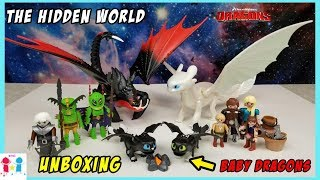 How to Train Your Dragons 3 The Hidden World Playmobil Unboxing 2019