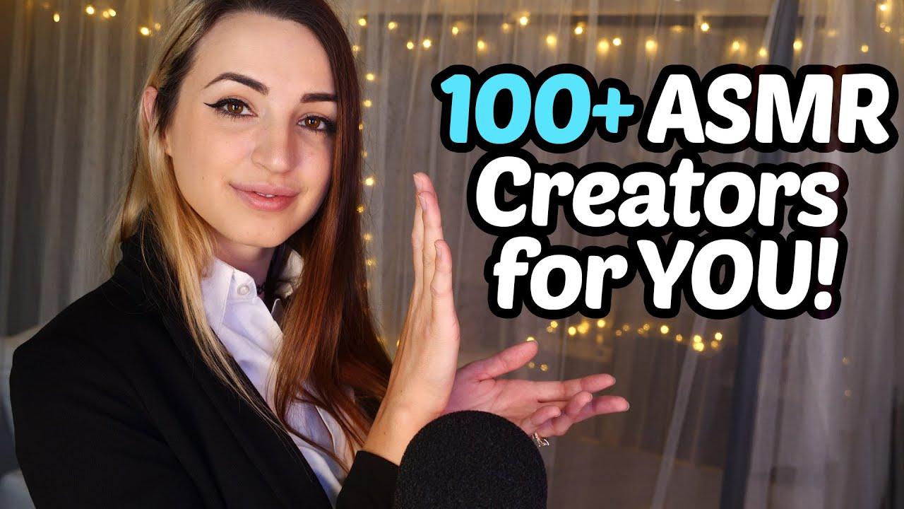 ASMR Speed Dating: 100+ Channels Showcase!