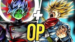 A NOVA DUPLA INVENCÍVEL? ZAMASU E TRUNKS NO PVP! (Dragon Ball legends)