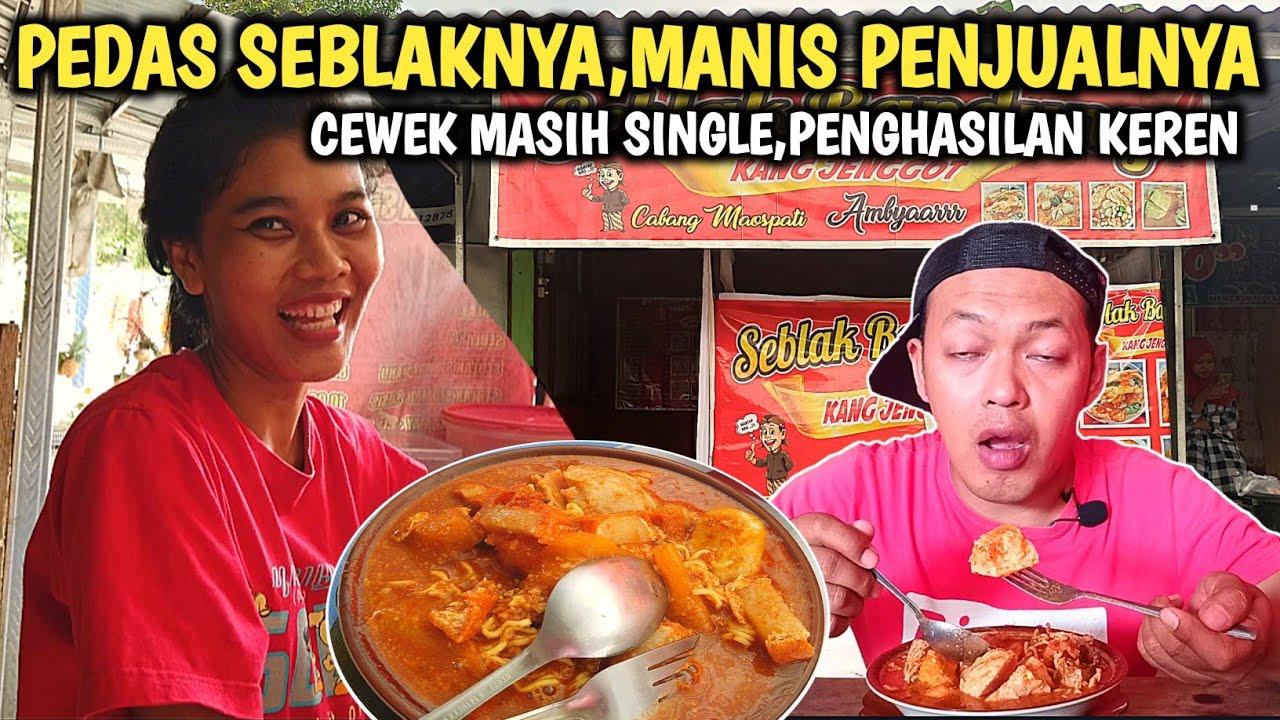 JONTOR... SEBLAK LEVEL GRANAT!!! PEDASNYA GAK KARUAN,TAPI NAGIHIN - Indonesia Street Food