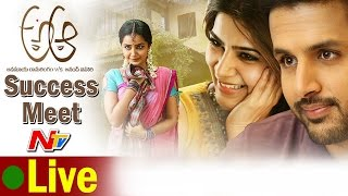 a-aa-movie-success-meet-live-nithin-samantha-trivikram
