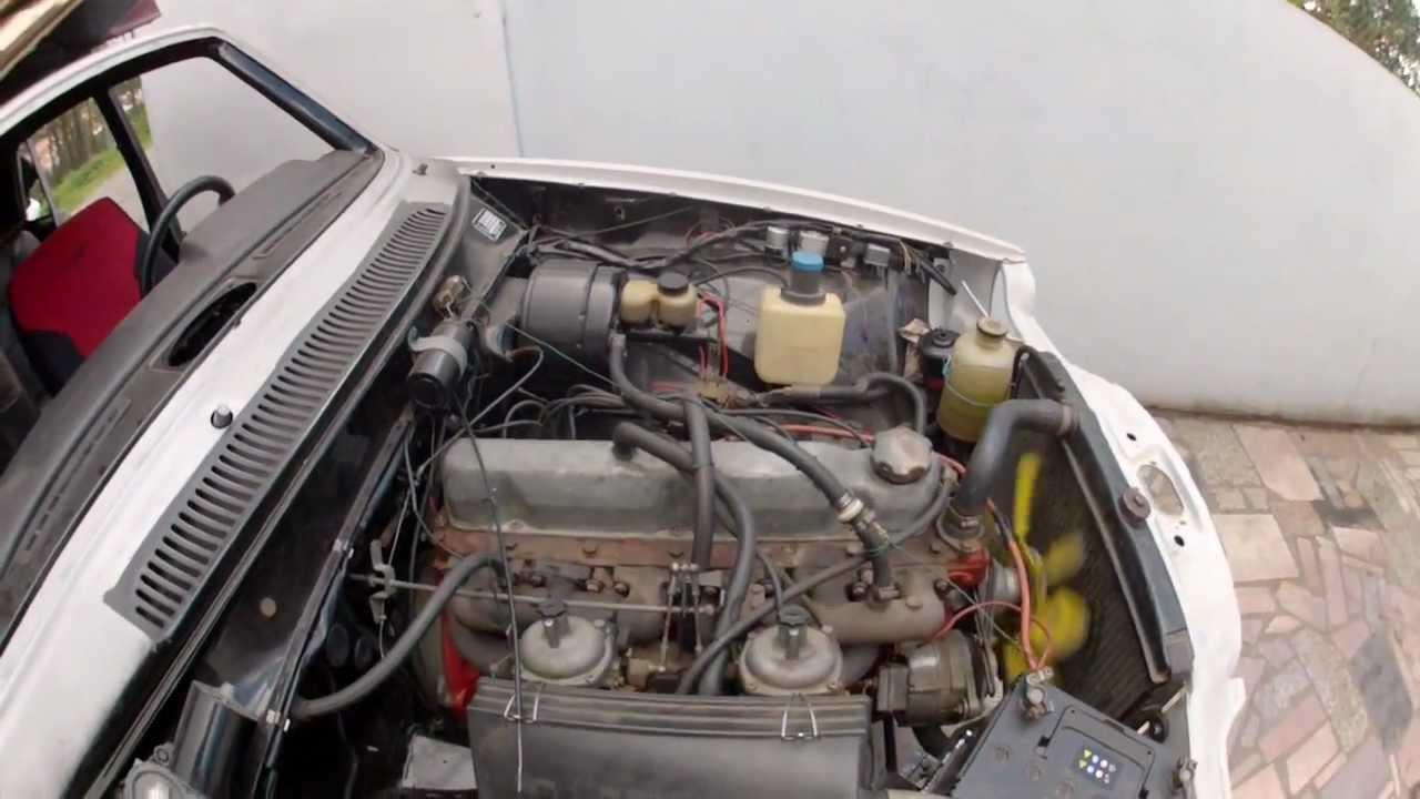 Volvo 164 B30 Engine Bay Sound Youtube