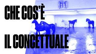 Che cos'è il concettuale - #6 Lezione di Storia dell'arte con Luca Beatrice