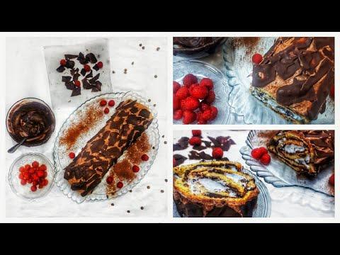 gâteau-roulé-gourmand-et-facile-à-réaliser-||-best-swiss-roll-cake-recipe