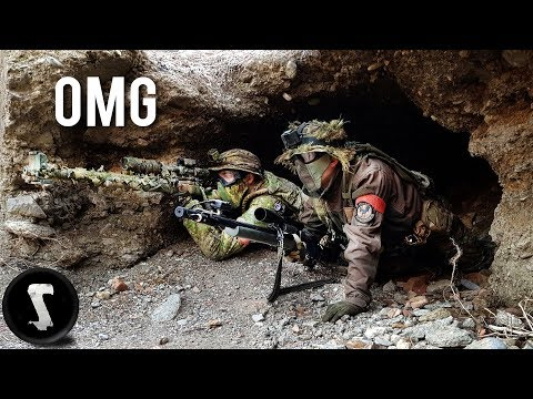 Sniper Team Goes UNDERGROUND (they hated us for this)