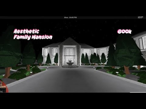 Bloxburg Aesthetic Family Home Mansion
