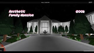 ROBLOX | Bloxburg: Aesthetic Family Mansion 600k