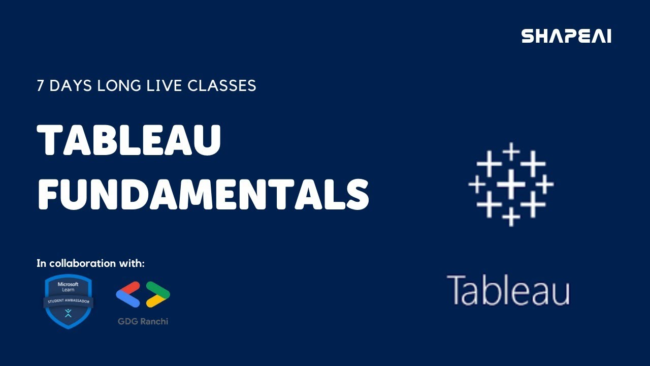 Tableau for beginners: Day-2