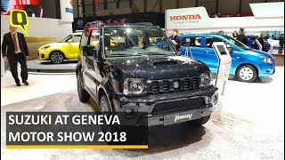 Suzuki Jimny, Swift Sport at Geneva Motor Show 2018