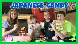 TRYING JAPANESE CANDY