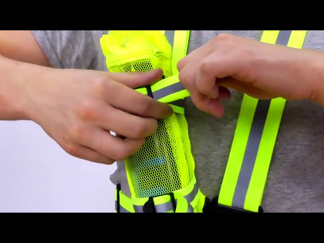 Product Video - Clinch Star - Reflective Vest and Belt⠀