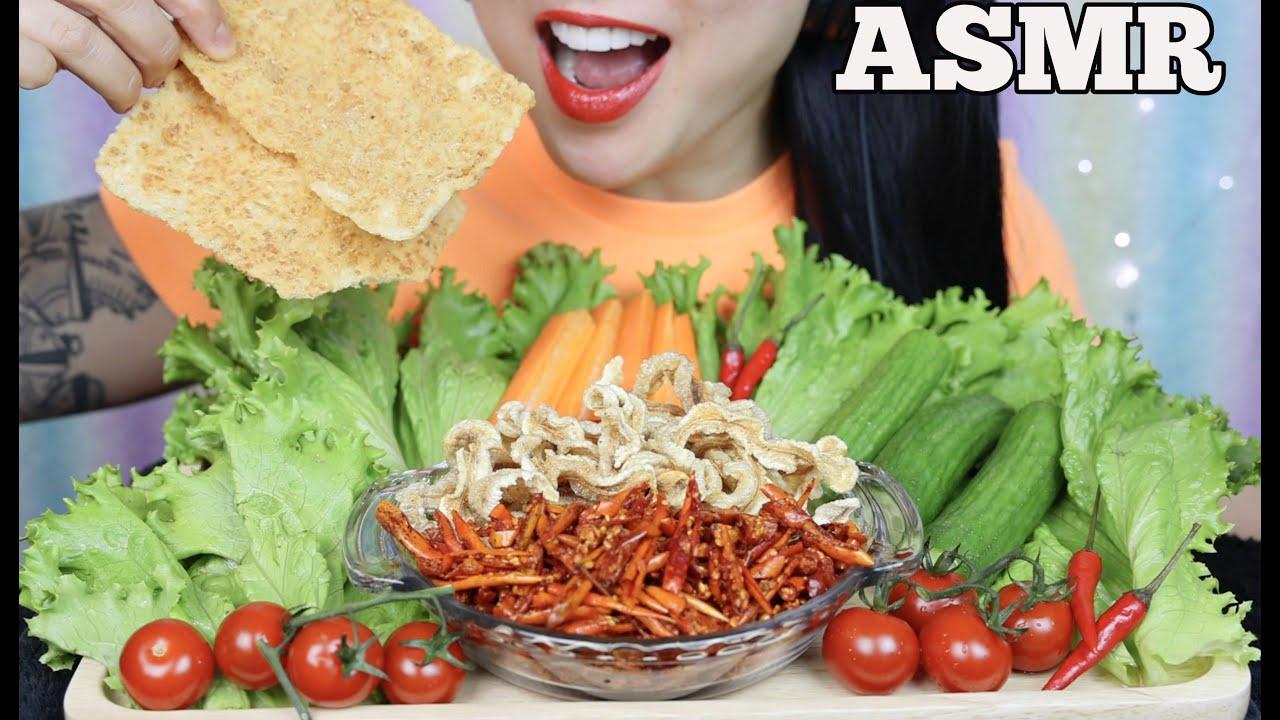 Asmr Fried Chili Pork Rinds Veggies Satisfying Crunchy Eating Sound No Talking Sas Asmr Youtube See more of sas asmr new on facebook. asmr fried chili pork rinds veggies satisfying crunchy eating sound no talking sas asmr