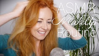 💄New MakeUp Routine💄Relaxing ASMR Tutorial 💋 Soft S...