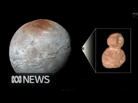 NASA releases New Horizons' first clear image of 'snowman' Ultima Thule | ABC News