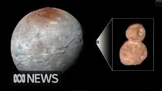 NASA releases New Horizons