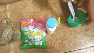 Cara membuat slime activator dengan detergen