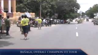 BANAGA, OVERALL CHAMPION ITI TOUR OF ILOCOS SUR 2012